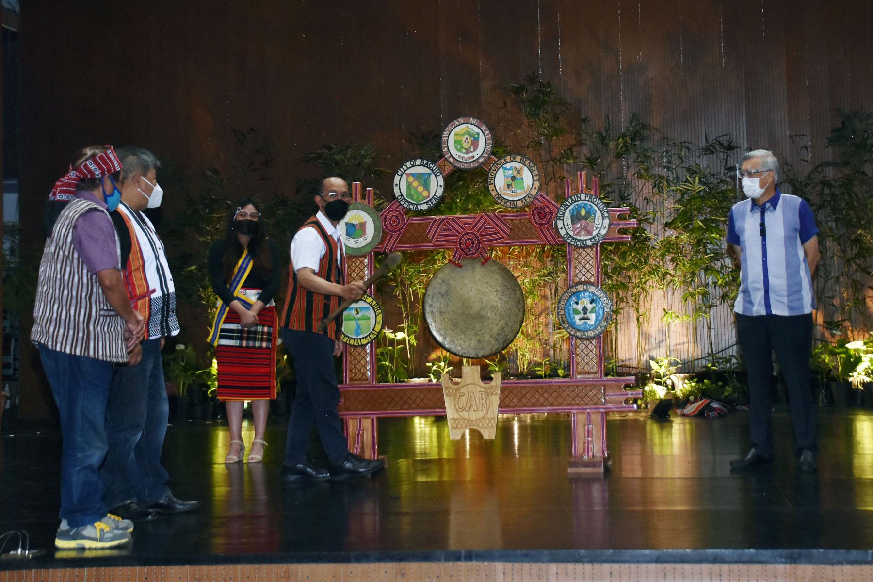 Gong for Cordillera autonomy