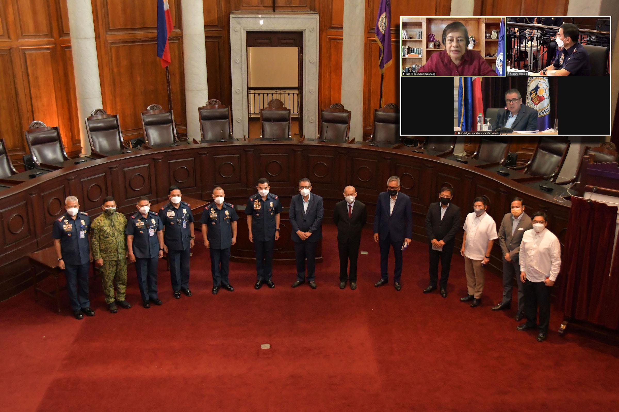 SC, PNP meet anew