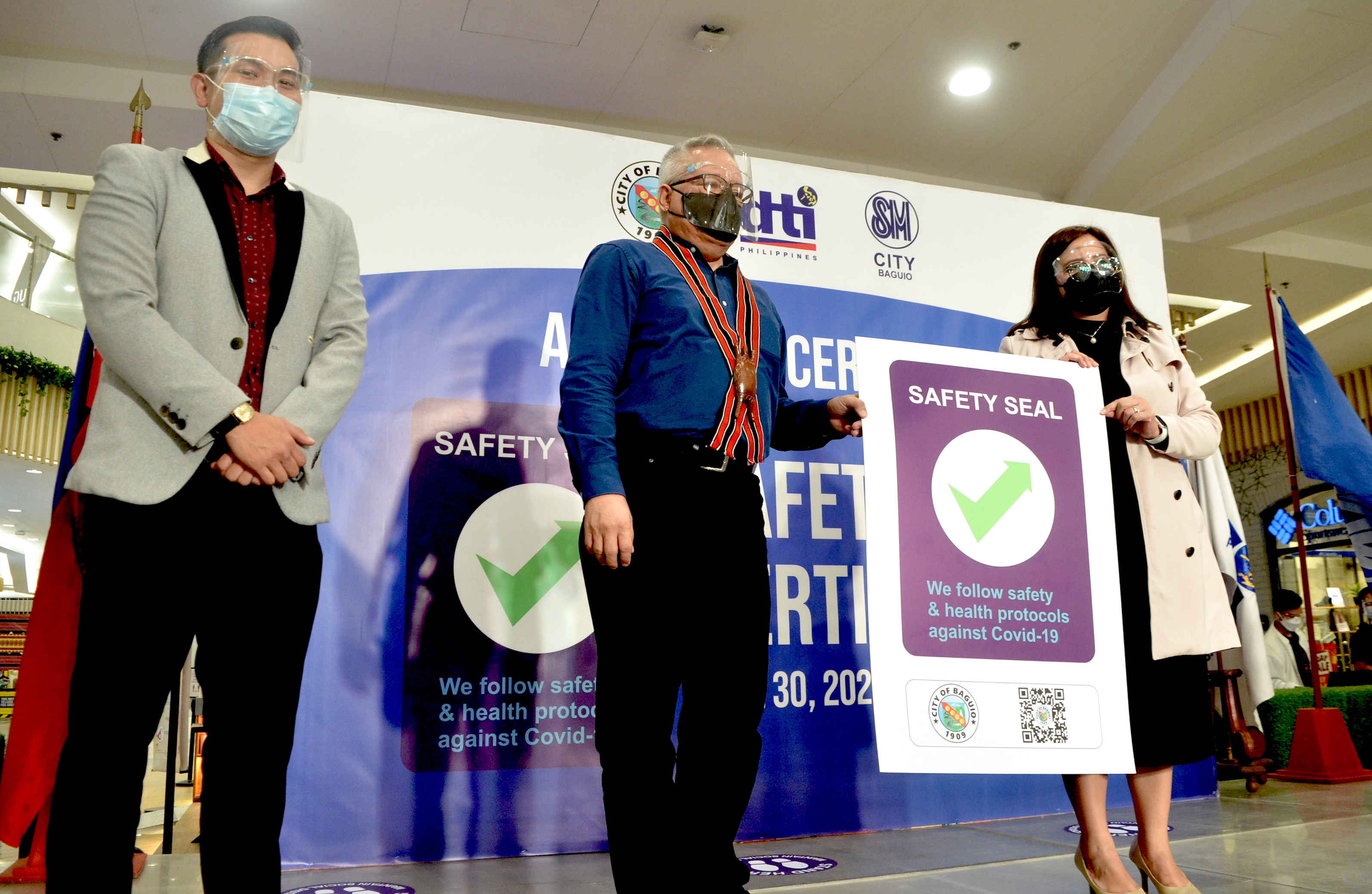 Safety Seal awardee in Baguio City