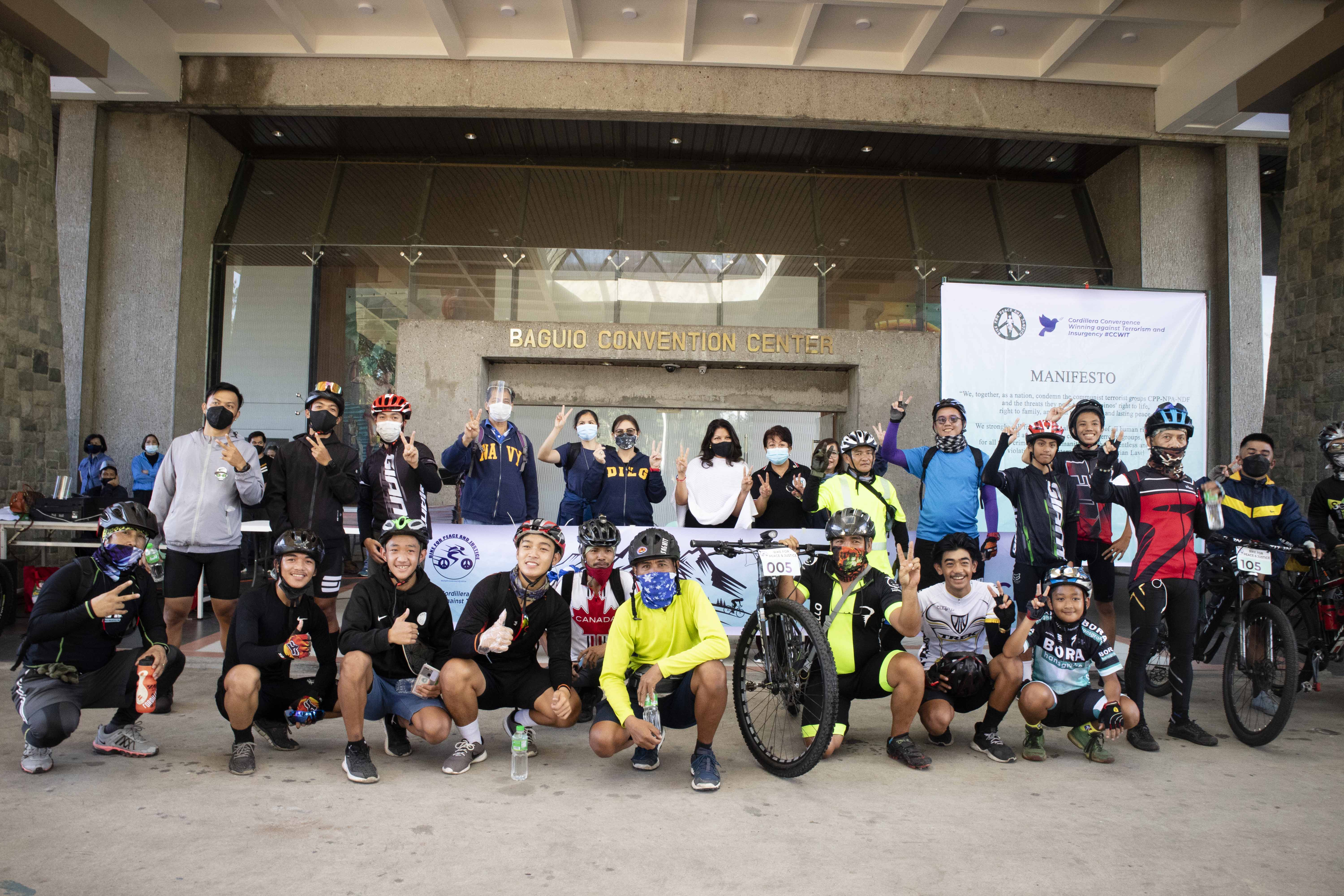 Bike for Peace and Justice in the Cordillera
