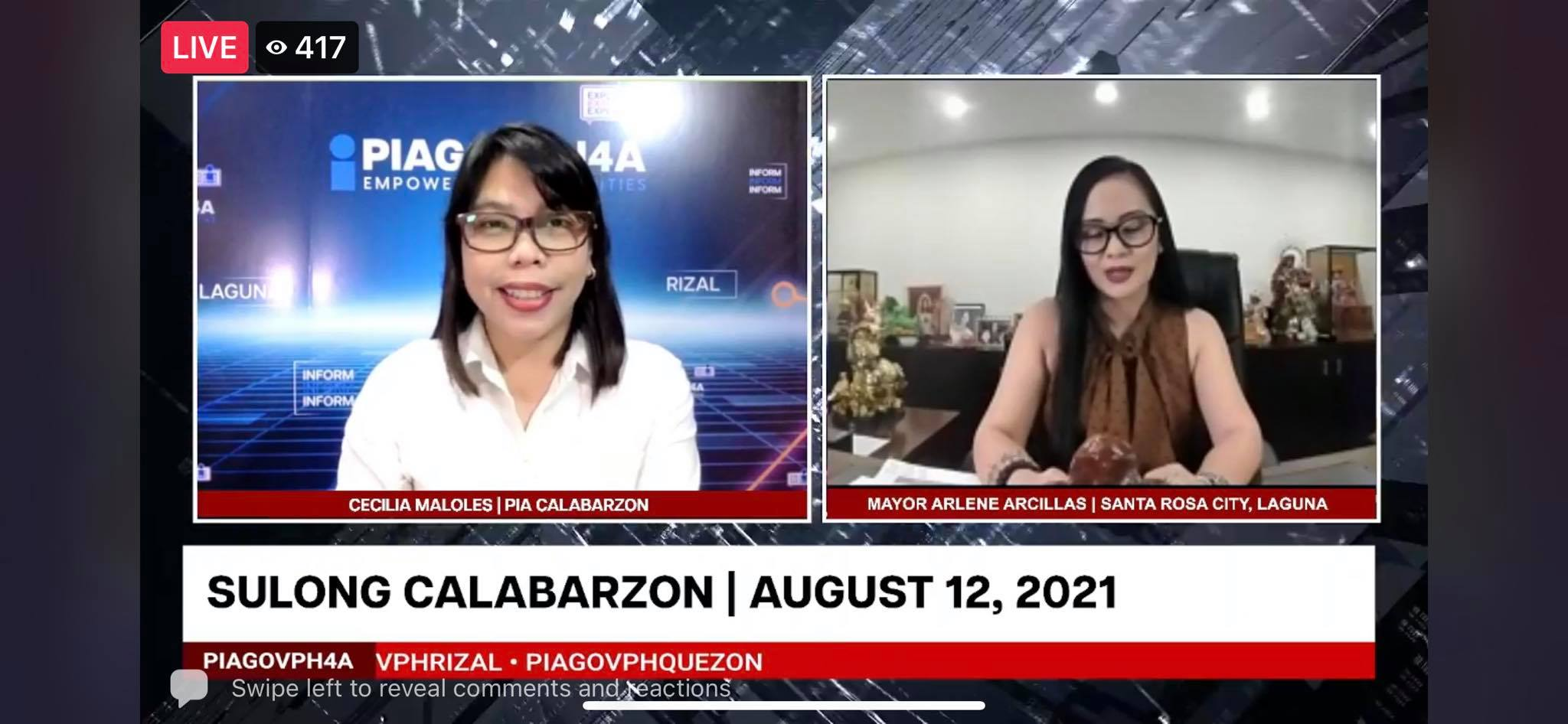 SULONG CALABARZON AUGUST 12, 2021