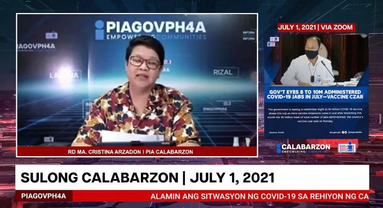 SULONG CALABARZON JULY 1, 2021
