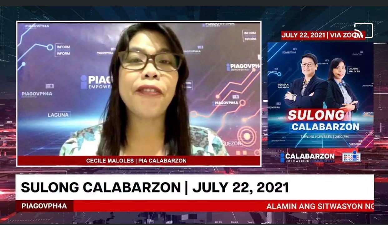 SULONG CALABARZON JULY 22, 2021