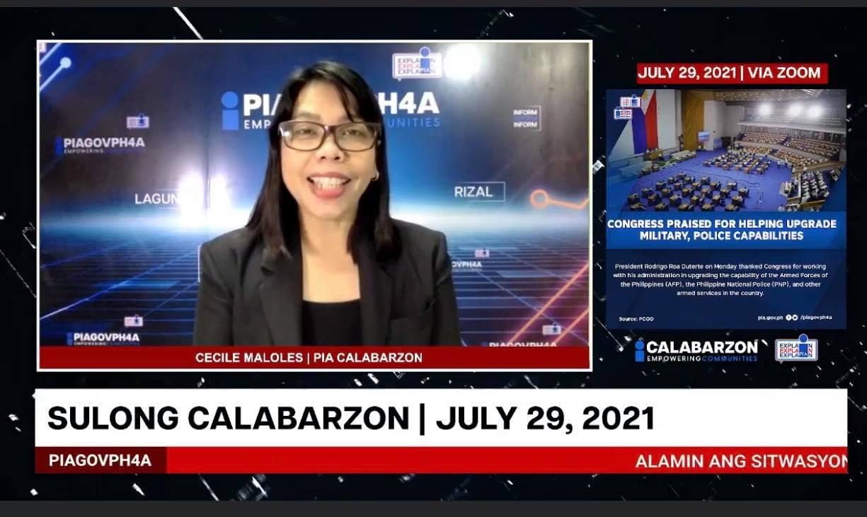 SULONG CALABARZON JULY 29, 2021